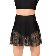 Adult Zebra Lace Skirt