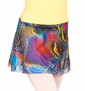 Child Printed Wrap Skirt