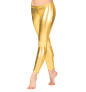 Adult Metallic Ankle Leggings