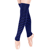 Elasta-knit 24 Multi Stripe Legwarmer