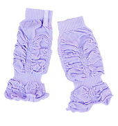 Lilac Kisses Baby 9 Ruffled Legwarmer