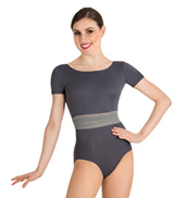 Adult Tiler Peck Short Sleeve Leotard
