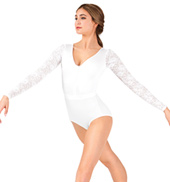 Adult Tiler Peck Long Sleeve Lace Leotard