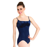 Adult Velvet Camisole Leotard