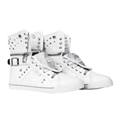 Adult Sugar Rush White High Top Sneakers