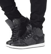 Adult Glam Pie Glitter Black Sneakers