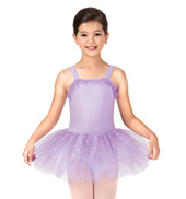 Child Sparkle Dot Tank Tutu Dress