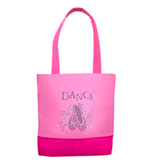 Rhinestone Pointe Shoe Dance Bag