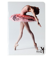 Pink Ballerina Notebook