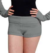 Open Knit Dance Short