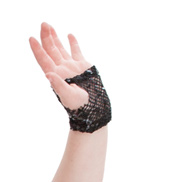 Adult/Girls Sequin Mesh Gloves