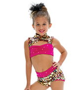 Adult/Girls Single Ladies Costume Set with Rhinestones