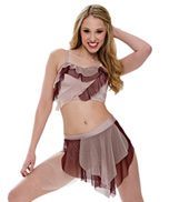Adult/Girls The Fear Costume Set without Rhinestones