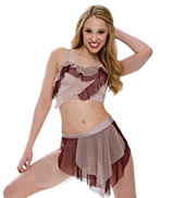 Adult/Girls The Fear Costume Set with Rhinestones
