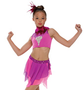 Adult/Girls Summer Thing! Costume Set with Rhinestones/Feathers