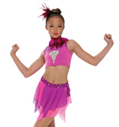Adult/Girls Summer Thing! Costume Set with Rhinestones/without Feathers