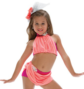Adult Summer Days Costume Set without Rhinestones