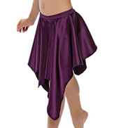 Adult West Coast Satin Skirt without Rhinestones