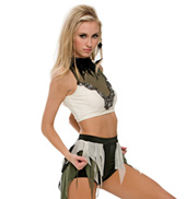 Adult/Girls The Wolves Costume Set without Rhinestones