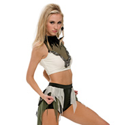 Adult/Girls The Wolves Costume Set with Rhinestones