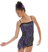 Adult/Girls Dream Catcher Camisole Unitard with Rhinestones