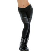 Adult/Girls Word Up Leather Leggings