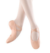 Adult Proflex Leather Split-Sole Ballet Slippers