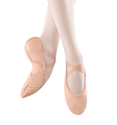 Adult Leather Split-Sole Ballet Slipper