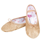 Child and Toddler Glitterdust Full Sole Ballet Slipper