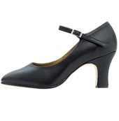 Chord Ankle Strap Character Shoe with 2 heel