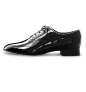 Mens Richelieu Patent Leather Ballroom Shoe