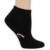 3-Pack Adult No Show Half Cushion Socks