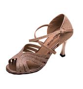 Ladies 3.5 Crystal Series Shimmery Ballroom Shoe