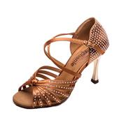 Ladies 3.5 Crystal Series Rhinestone Ballroom Shoe