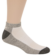 3-Pack Mens Low Cut Half Cushion Socks