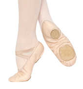 Adult Tempo Split Sole Canvas Ballet Slipper