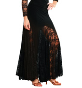 Long Lace Skirt