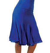 Adult 8 Panel Banded Silhouette Ballroom Skirt