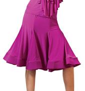 Adult Short Trumpet Ballroom Skirt