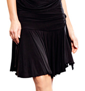 Volant Wrap Skirt