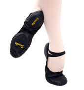 Adult Entrechat Leather Split-Sole Ballet Slipper
