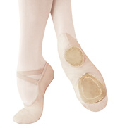 Adult Performance Series Split-Sole Canvas Ballet Slippers