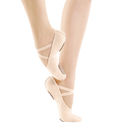 Adult Canvas Split-Sole Ballet Slipper