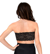 Adult Lace Back Padded Bandeau Top