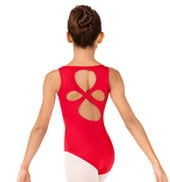 Girls Cloverleaf Tank Leotard