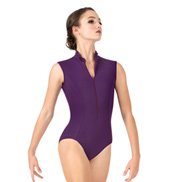 Adult Zip Front Tank Leotard