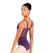 Adult Silkteck & Lace Tank Leotard