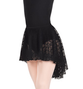 Adult Lace Hi-Lo Skirt