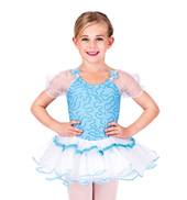 Child Aqua Dancer Dress