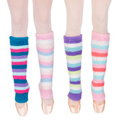 Tri Colored Pamper Legwarmers